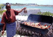 Anguilla Lobster fest photo by Larry Larsen