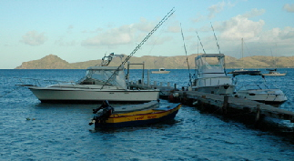 Nevis Fishing Boats