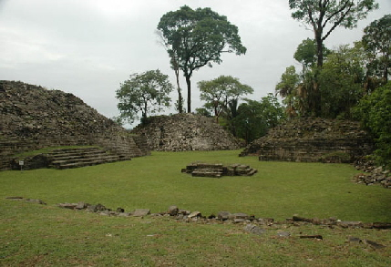 View of Lubaantum ruins