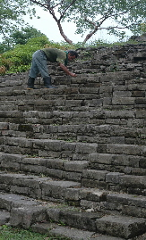 Keeping Lubaantum ruins in good shape